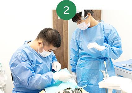 天然歯の保存・抜歯の回避